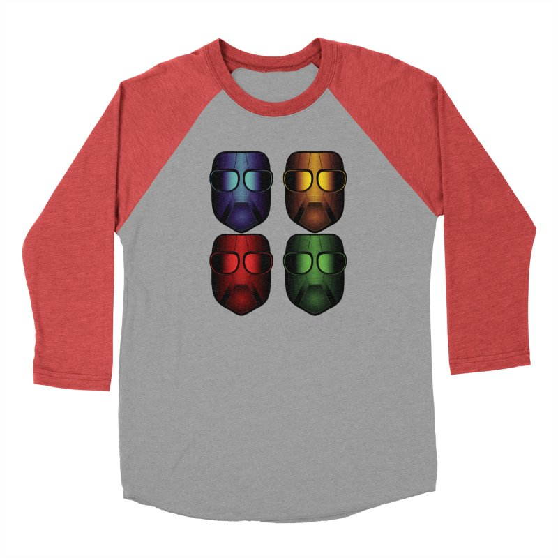 4 Masks Eins Men's Longsleeve T-Shirt by nickaker's Artist Shop