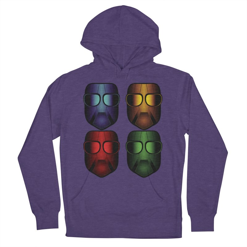 4 Masks Women's Pullover Hoody by nickaker's Artist Shop