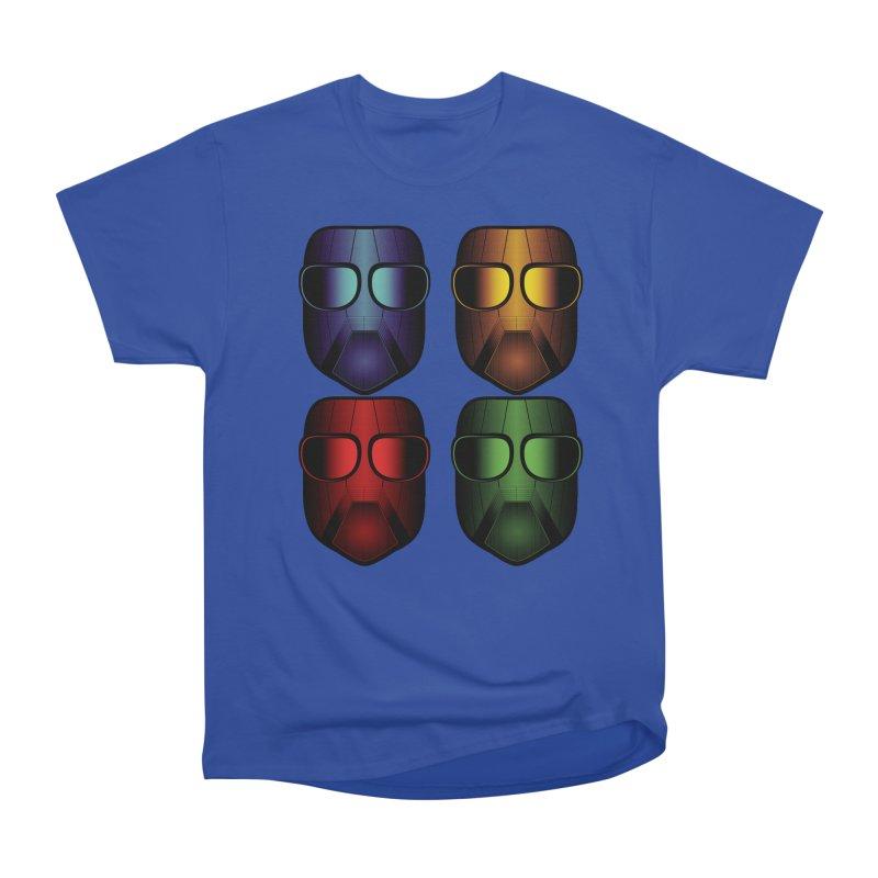 4 Masks Men's Classic T-Shirt by nickaker's Artist Shop