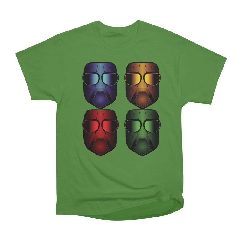 4 Masks Women's Classic Unisex T-Shirt by nickaker's Artist Shop