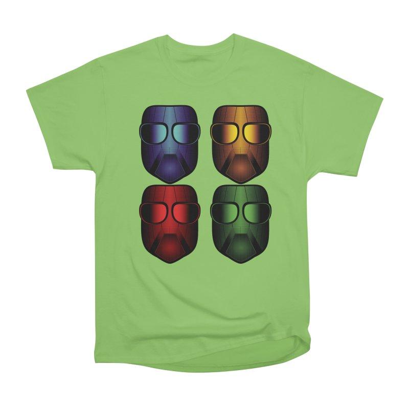 4 Masks Eins Men's Heavyweight T-Shirt by nickaker's Artist Shop