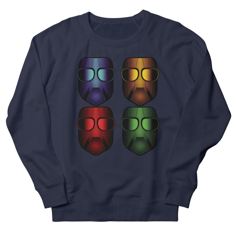 4 Masks Women's Sweatshirt by nickaker's Artist Shop