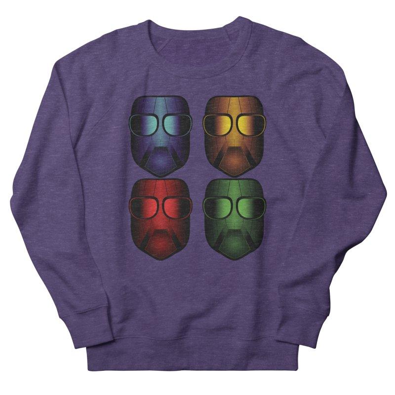 4 Masks Eins Men's Sweatshirt by nickaker's Artist Shop