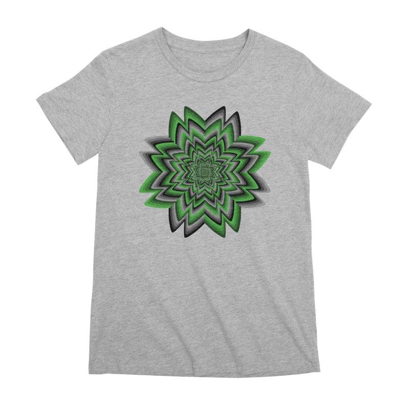 Wacky Clover Women's Premium T-Shirt by nickaker's Artist Shop