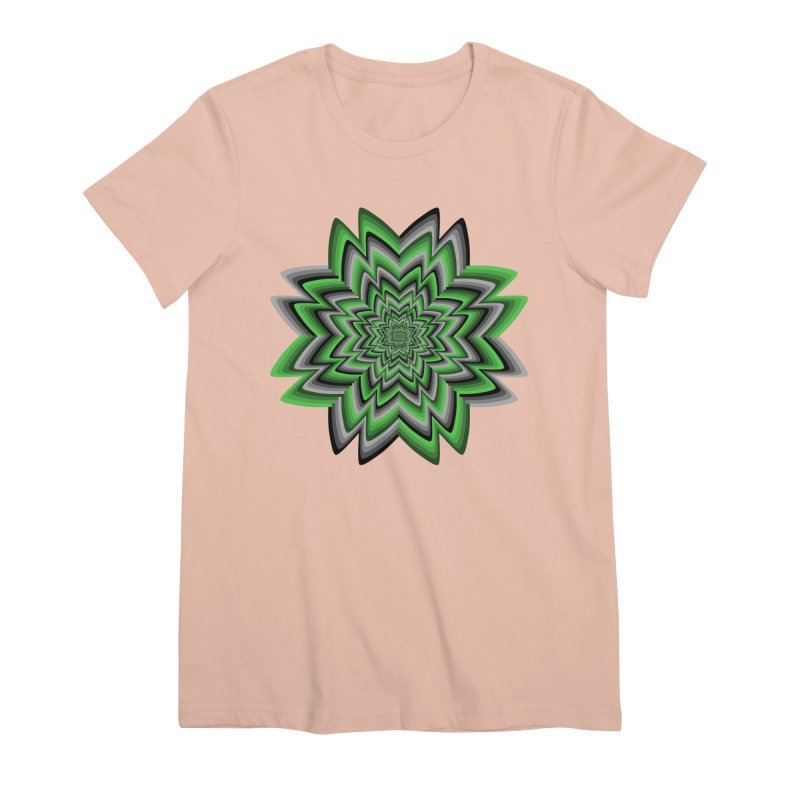 Wacky Clover Women's Premium T-Shirt by nickaker's Artist Shop