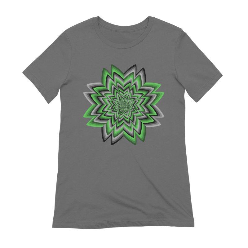 Wacky Clover Women's Extra Soft T-Shirt by nickaker's Artist Shop