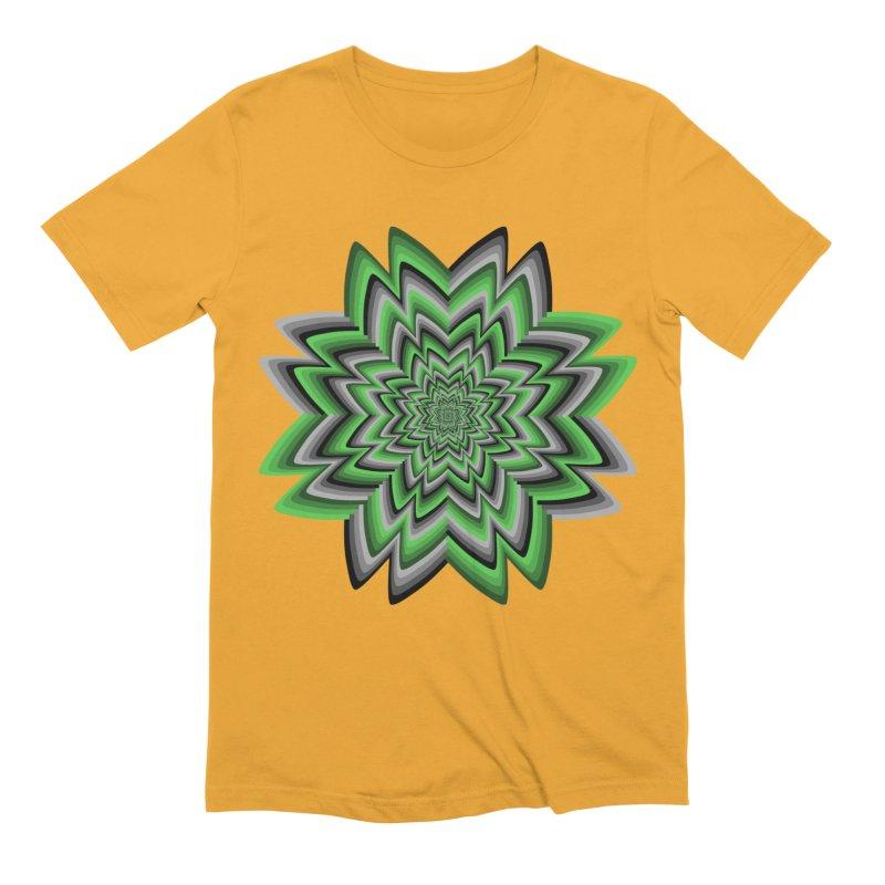Wacky Clover Men's Extra Soft T-Shirt by nickaker's Artist Shop