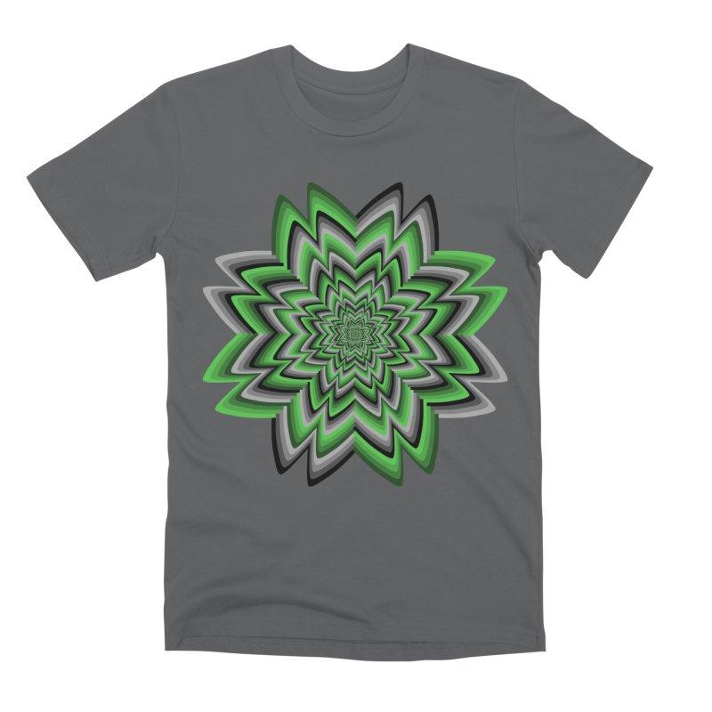 Wacky Clover Men's Premium T-Shirt by nickaker's Artist Shop