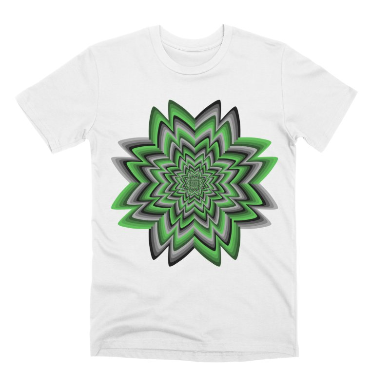 Wacky Clover Men's Premium T-Shirt by nickaker's Artist Shop
