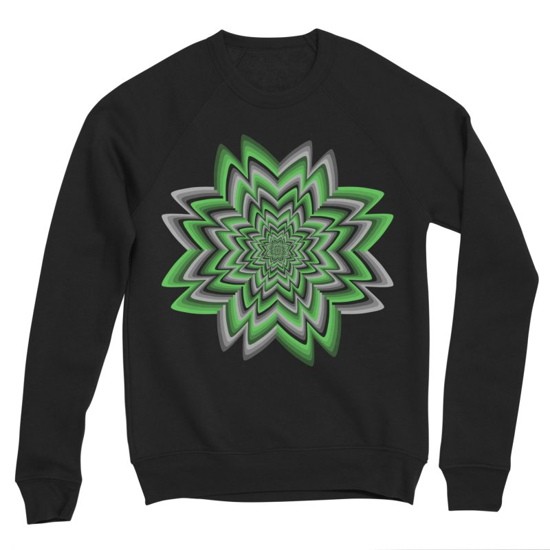 Wacky Clover Men's Sweatshirt by nickaker's Artist Shop