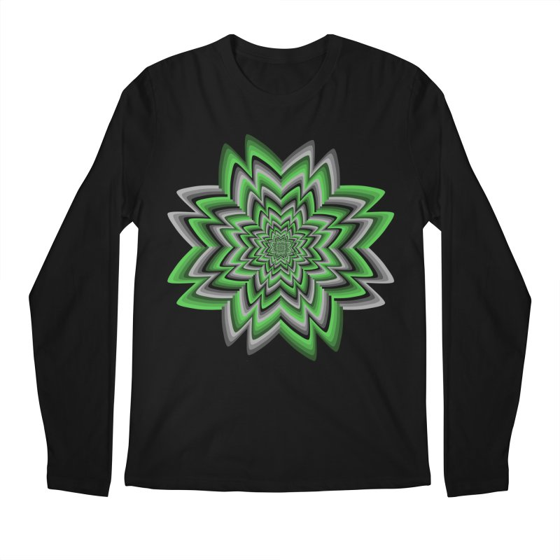 Wacky Clover Men's Regular Longsleeve T-Shirt by nickaker's Artist Shop