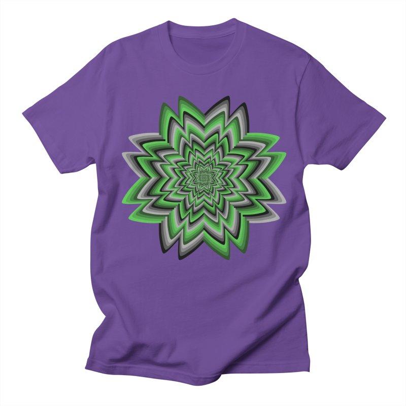 Wacky Clover Women's Regular Unisex T-Shirt by nickaker's Artist Shop