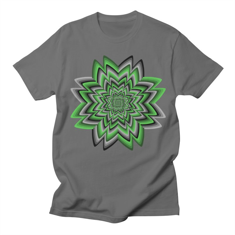 Wacky Clover Men's T-Shirt by nickaker's Artist Shop