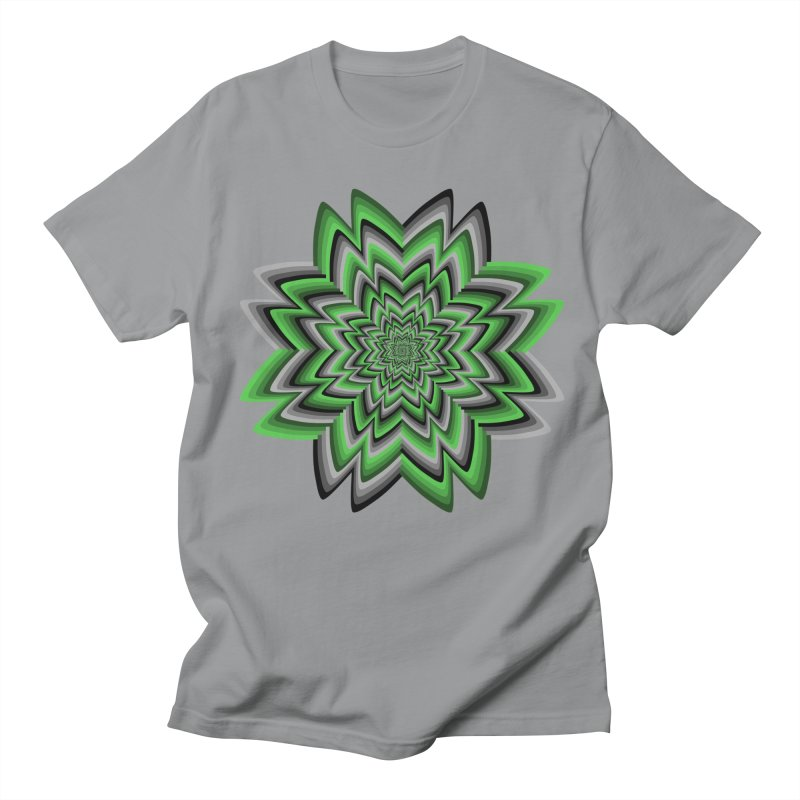 Wacky Clover Men's Regular T-Shirt by nickaker's Artist Shop