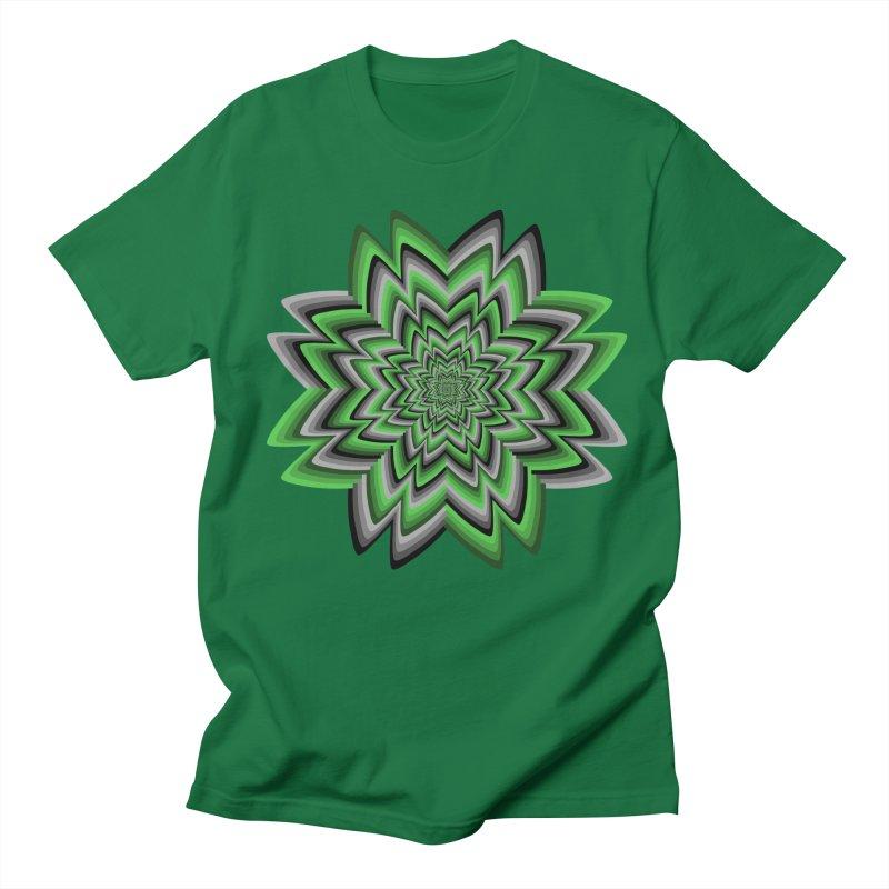 Wacky Clover Men's T-shirt by nickaker's Artist Shop