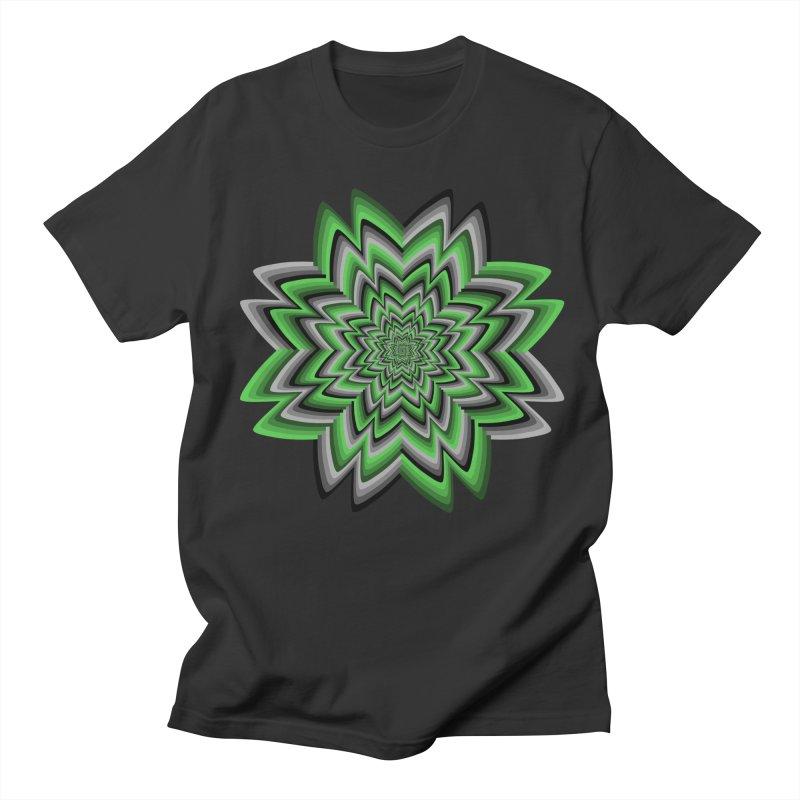 Wacky Clover Men's Regular T-Shirt by nickaker's Artist Shop