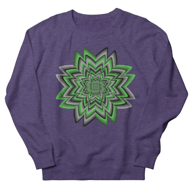 Wacky Clover Women's Sweatshirt by nickaker's Artist Shop