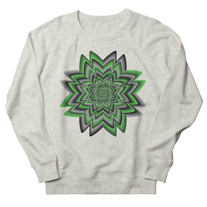 Wacky Clover Men's Sweatshirt by nickaker's Artist Shop