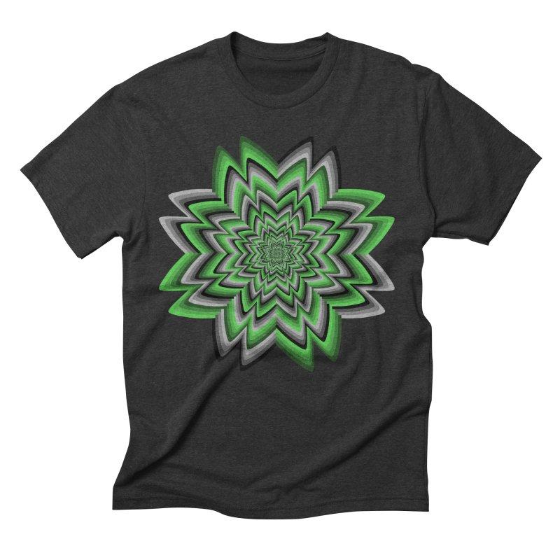 Wacky Clover Men's Triblend T-Shirt by nickaker's Artist Shop