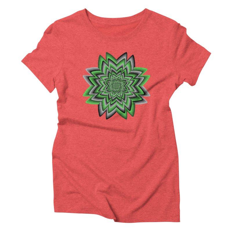 Wacky Clover Women's T-Shirt by nickaker's Artist Shop