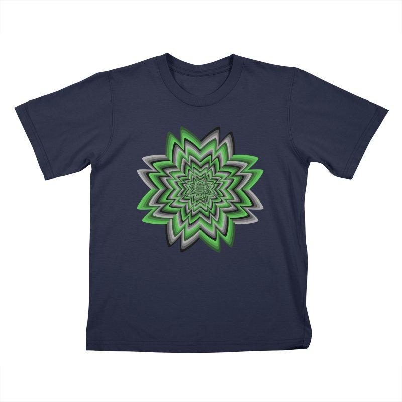 Wacky Clover Kids T-Shirt by nickaker's Artist Shop