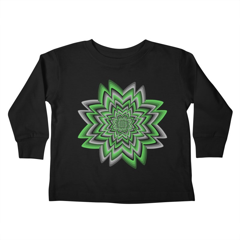 Wacky Clover Kids Toddler Longsleeve T-Shirt by nickaker's Artist Shop
