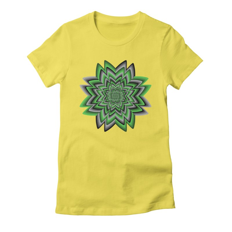Wacky Clover Women's T-Shirt by nickaker's Artist Shop
