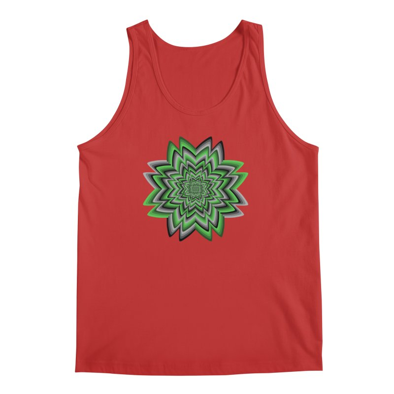 Wacky Clover Men's Regular Tank by nickaker's Artist Shop
