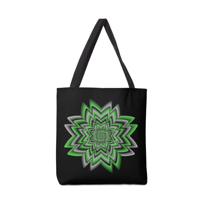 Wacky Clover Accessories Bag by nickaker's Artist Shop