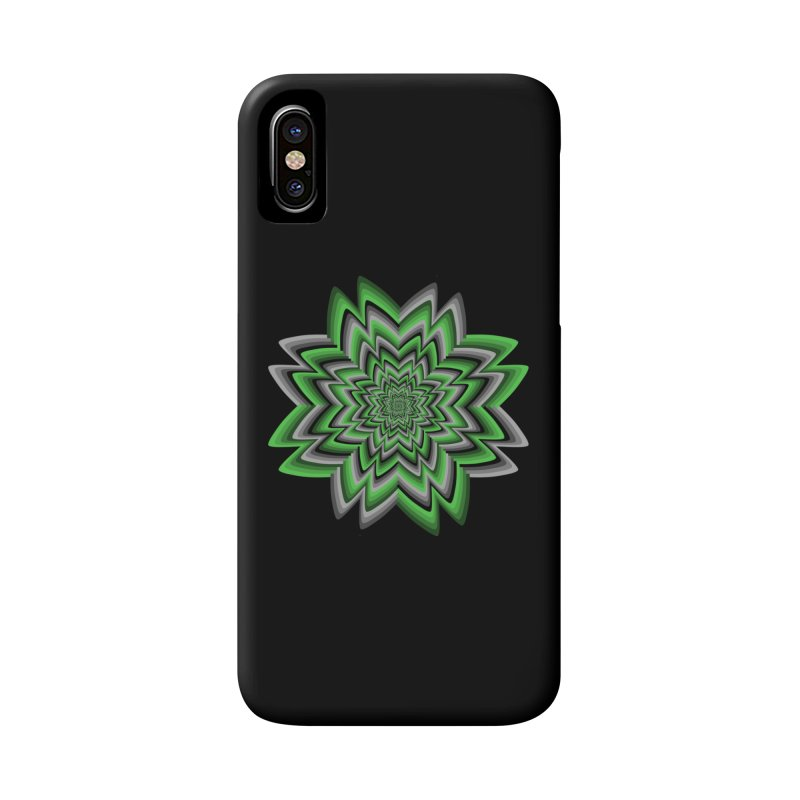 Wacky Clover Accessories Phone Case by nickaker's Artist Shop