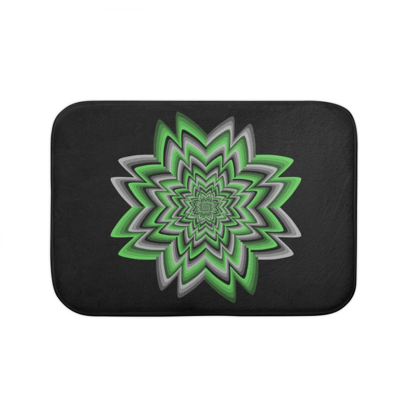 Wacky Clover Home Bath Mat by nickaker's Artist Shop