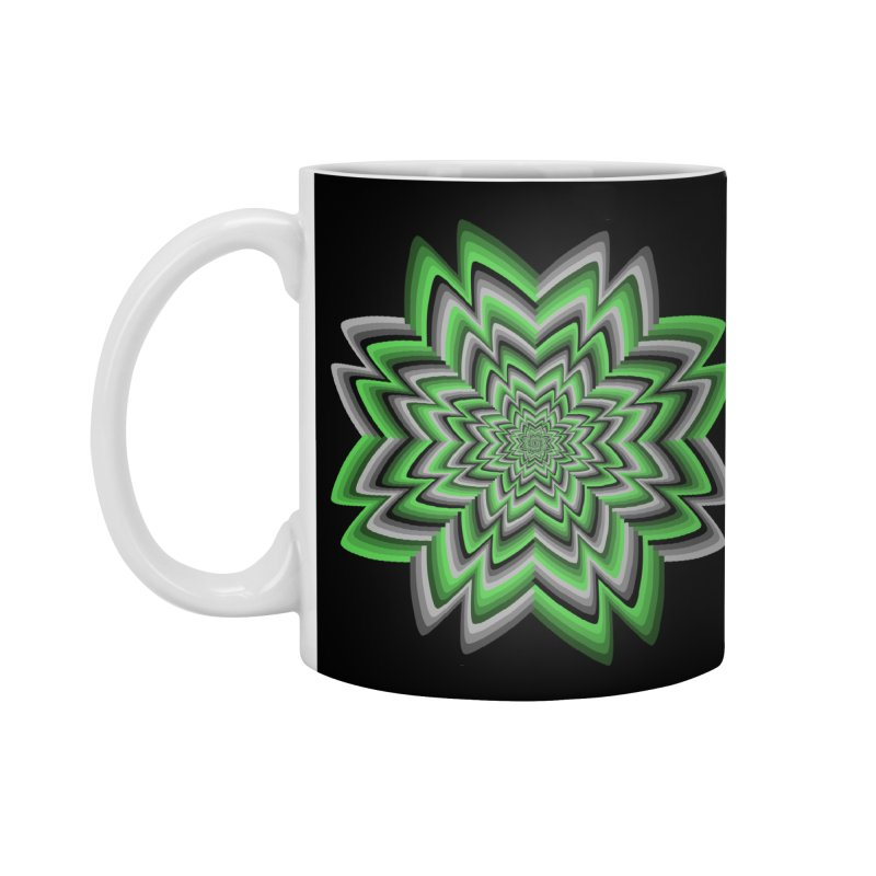 Wacky Clover Accessories Mug by nickaker's Artist Shop