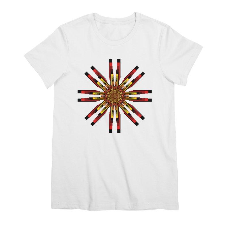 Gears - Autumn Women's Premium T-Shirt by nickaker's Artist Shop