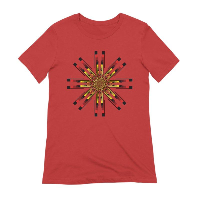 Gears - Autumn Women's Extra Soft T-Shirt by nickaker's Artist Shop