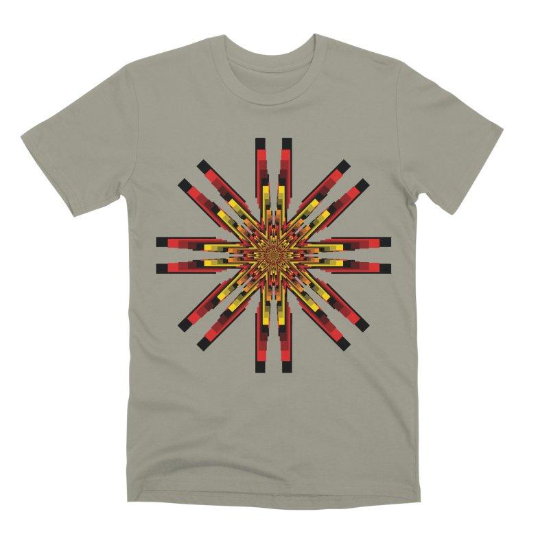 Gears - Autumn Men's Premium T-Shirt by nickaker's Artist Shop
