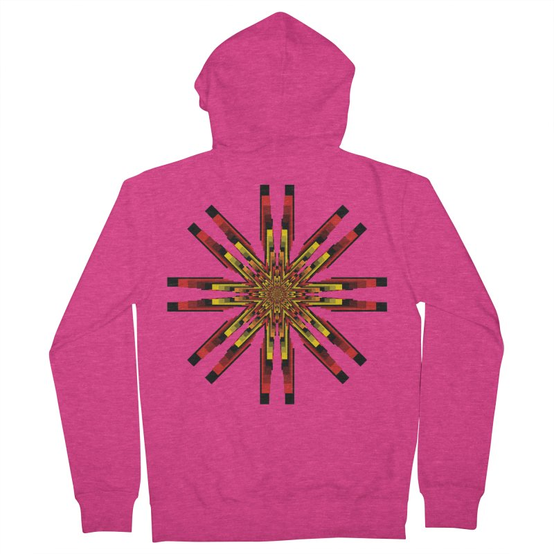 Gears - Autumn Women's French Terry Zip-Up Hoody by nickaker's Artist Shop