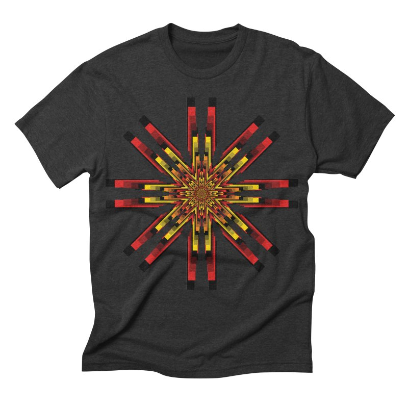 Gears - Autumn Men's Triblend T-shirt by nickaker's Artist Shop