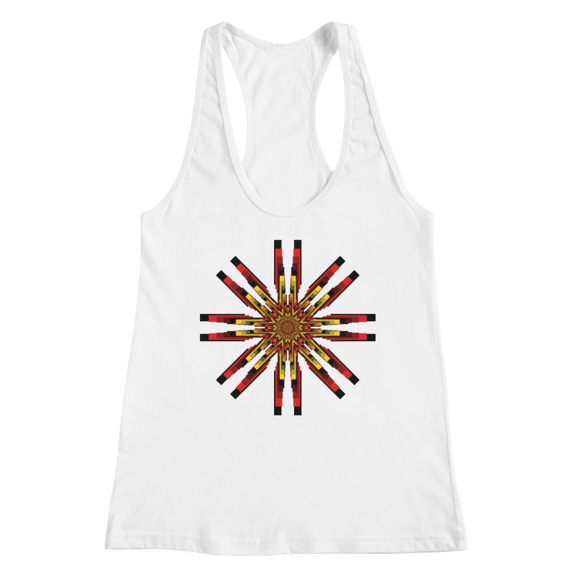 Gears - Autumn Women's Racerback Tank by nickaker's Artist Shop