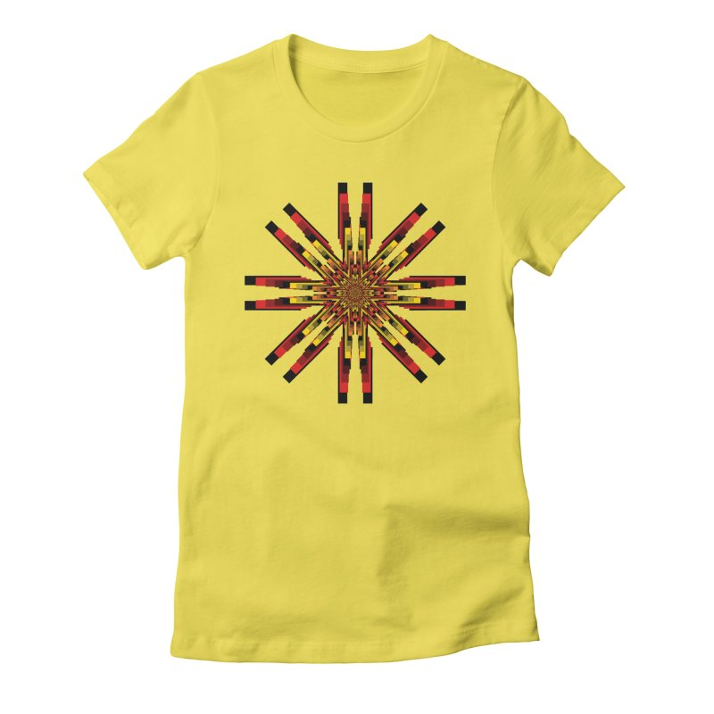 Gears - Autumn Women's Fitted T-Shirt by nickaker's Artist Shop