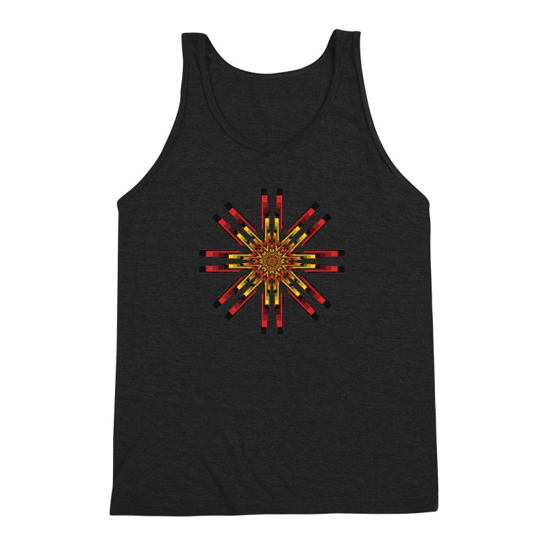 Gears - Autumn Men's Triblend Tank by nickaker's Artist Shop