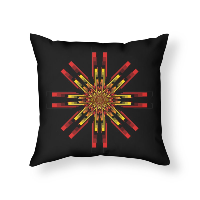 Gears - Autumn Home Throw Pillow by nickaker's Artist Shop