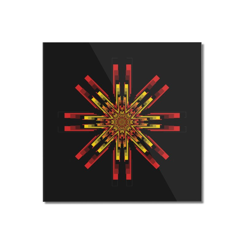 Gears - Autumn Home Mounted Acrylic Print by nickaker's Artist Shop