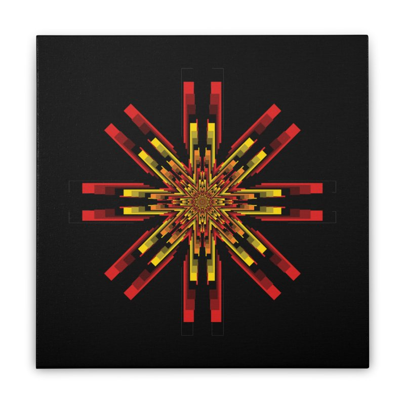 Gears - Autumn Home Stretched Canvas by nickaker's Artist Shop