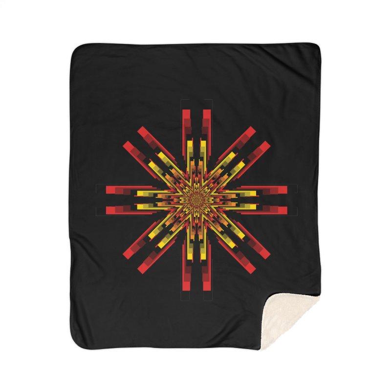 Gears - Autumn Home Sherpa Blanket Blanket by nickaker's Artist Shop