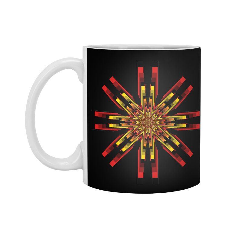 Gears - Autumn Accessories Standard Mug by nickaker's Artist Shop