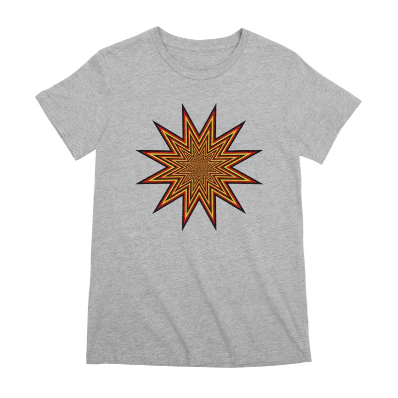 12 Star Women's Premium T-Shirt by nickaker's Artist Shop