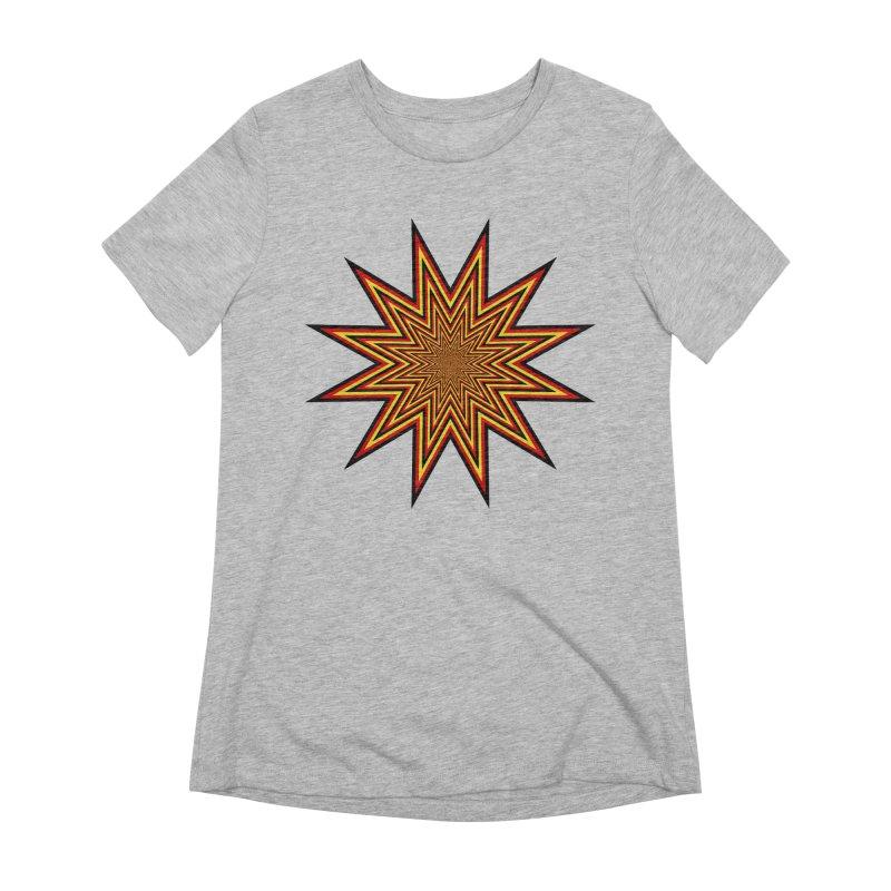 12 Star Women's Extra Soft T-Shirt by nickaker's Artist Shop