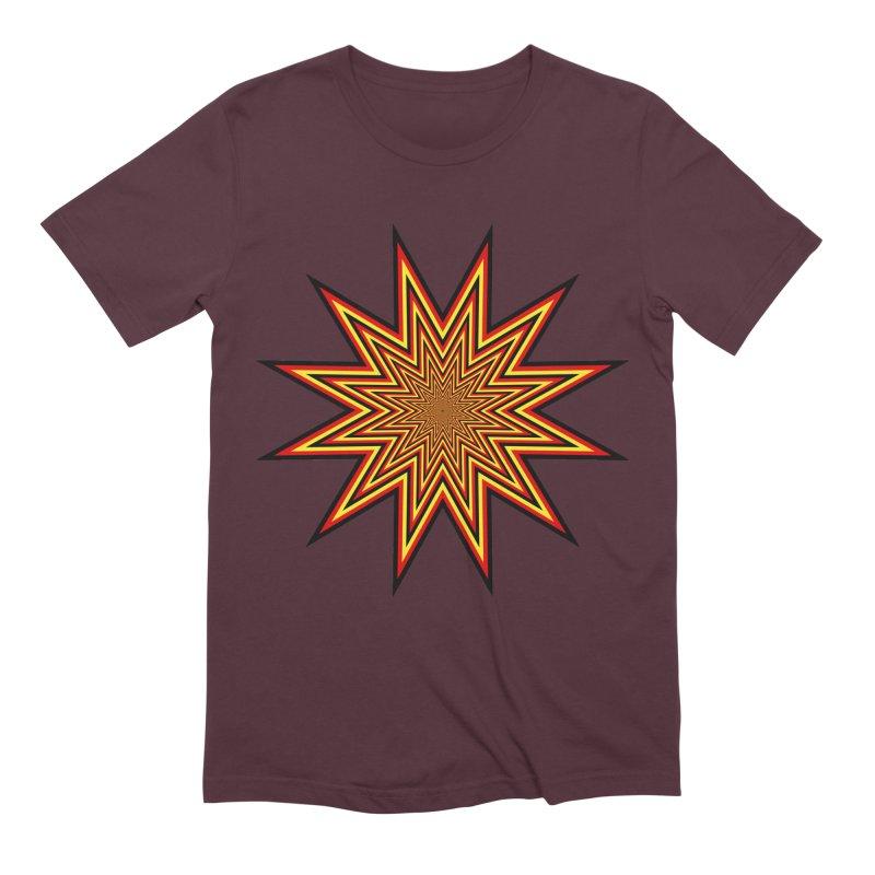 12 Star Men's Extra Soft T-Shirt by nickaker's Artist Shop