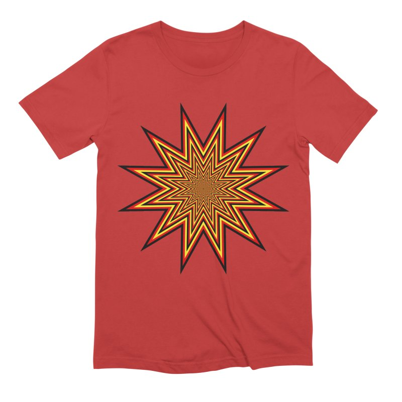 12 Star Men's Extra Soft T-Shirt by nickaker's Artist Shop