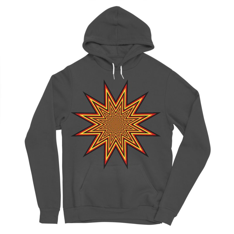 12 Star Women's Sponge Fleece Pullover Hoody by nickaker's Artist Shop